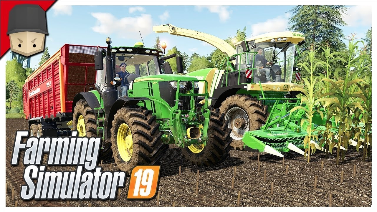 FORAGE HARVESTER & BUYING NEW LAND! : Ep 14 (Let's Play Farming Simulator  19)