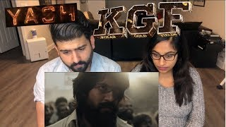 KGF Trailer Reaction | Yash | Kannada Film | RajDeepLive |