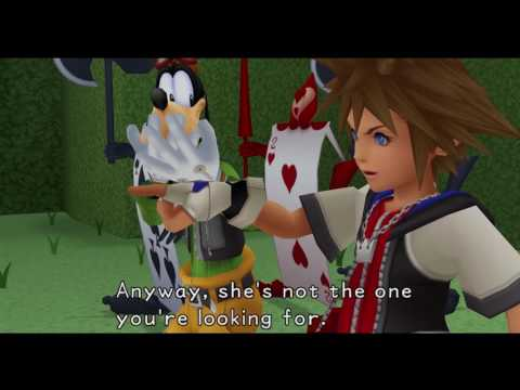 Kingdom Hearts HD Final Mix MOVIE (Disney's Alice In Wonderland) 60FPS