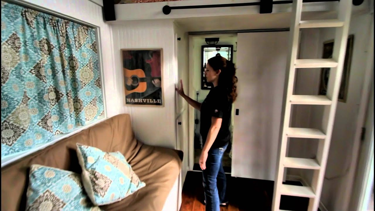guided tour of music city tiny home youtube