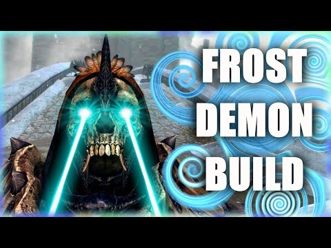 Skyrim SE Builds - The Frost Demon - Ancient Vampire Battlemage Modded Build