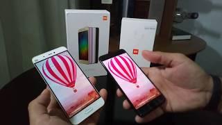 Comparação entre Xiaomi Mi5 vs Mi6 - Designer