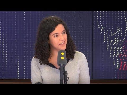 Manon Aubry (FI) sur FranceInfo : Grand débat, Médiapart, Européennes, Gilets Jaunes