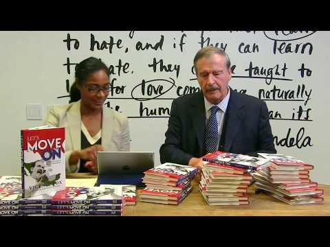 """Vicente Fox Book Signing & Interview 
