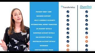 TransferWise Debit Card vs Revolut
