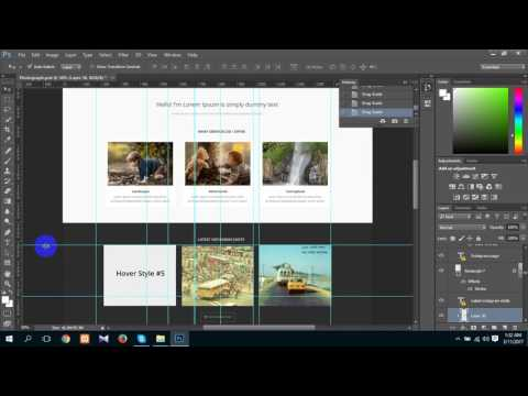 How To Remove Or Deleting Guides In Photoshop