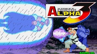 Street Fighter Alpha 3 (ARCADE CPS2) 1CC Shin M.BISON Walkthrough (FULL GAMEPLAY)