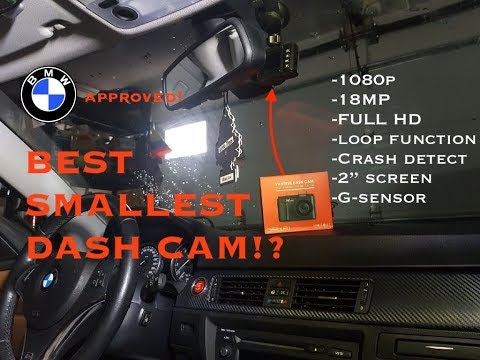 BEST Dash Cam For Your Car? // Vantrue N1 Pro Install (BMW E90 E91 E92 E93)