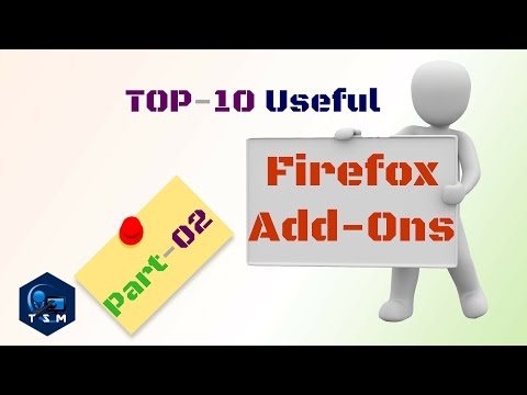 Best Firefox Addons | Firefox Extensions | Firefox Plugins | Browser Add ons | tsm computer world