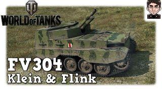 World of Tanks - FV304, kleine & flinke Artillerie [deutsch | live | gameplay]