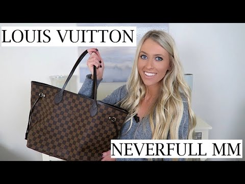 Louis Vuitton Neverfull MM Unboxing & First Impressions   Erica Lee