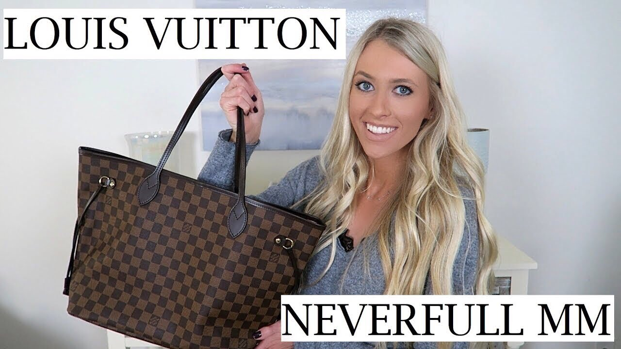 d78605a60200 Louis Vuitton Neverfull MM Unboxing   First Impressions   Erica Lee ...