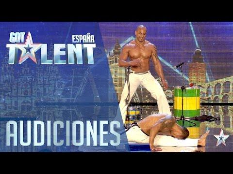Músculo, capoeira y ritmos brasileños | Audiciones 3 | Got Talent España 2016