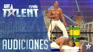 Músculo, capoeira y ritmos brasileños | Audiciones 3 | Got Talent España 2016 thumbnail