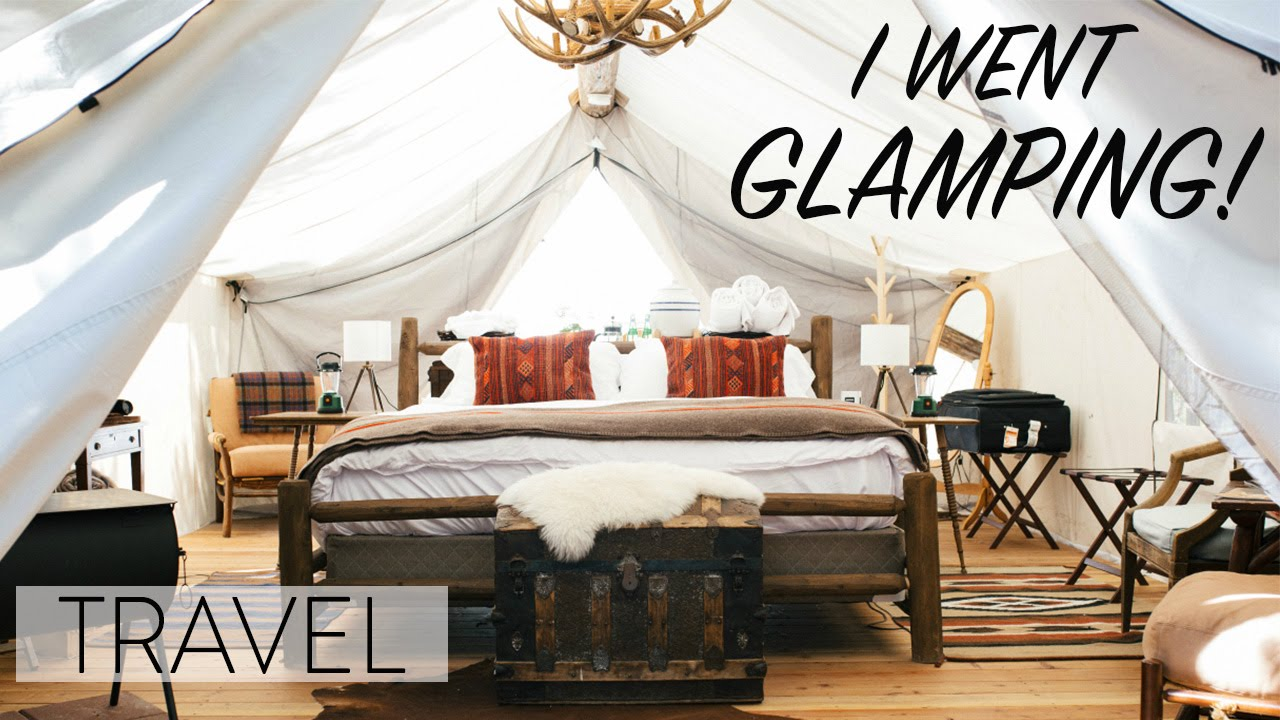 Glamping In Montana Tent Room Tour Youtube
