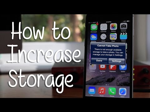 How To Increase Storage On Any Iphone Hd