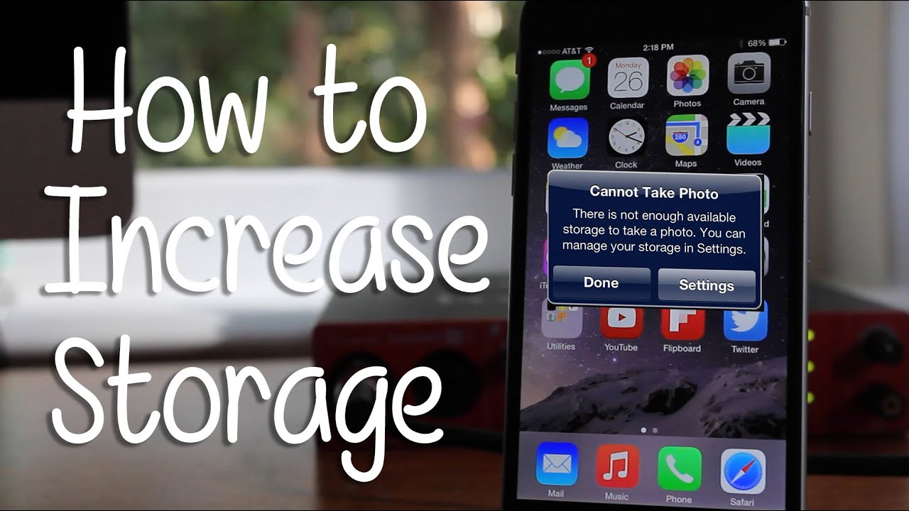 storage almost full iphone 5 how to increase storage on any iphone hd 18036