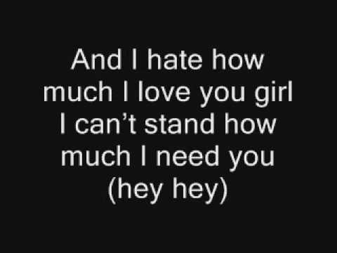 Rihanna feat NeYo  Hate that I love you with lyrics