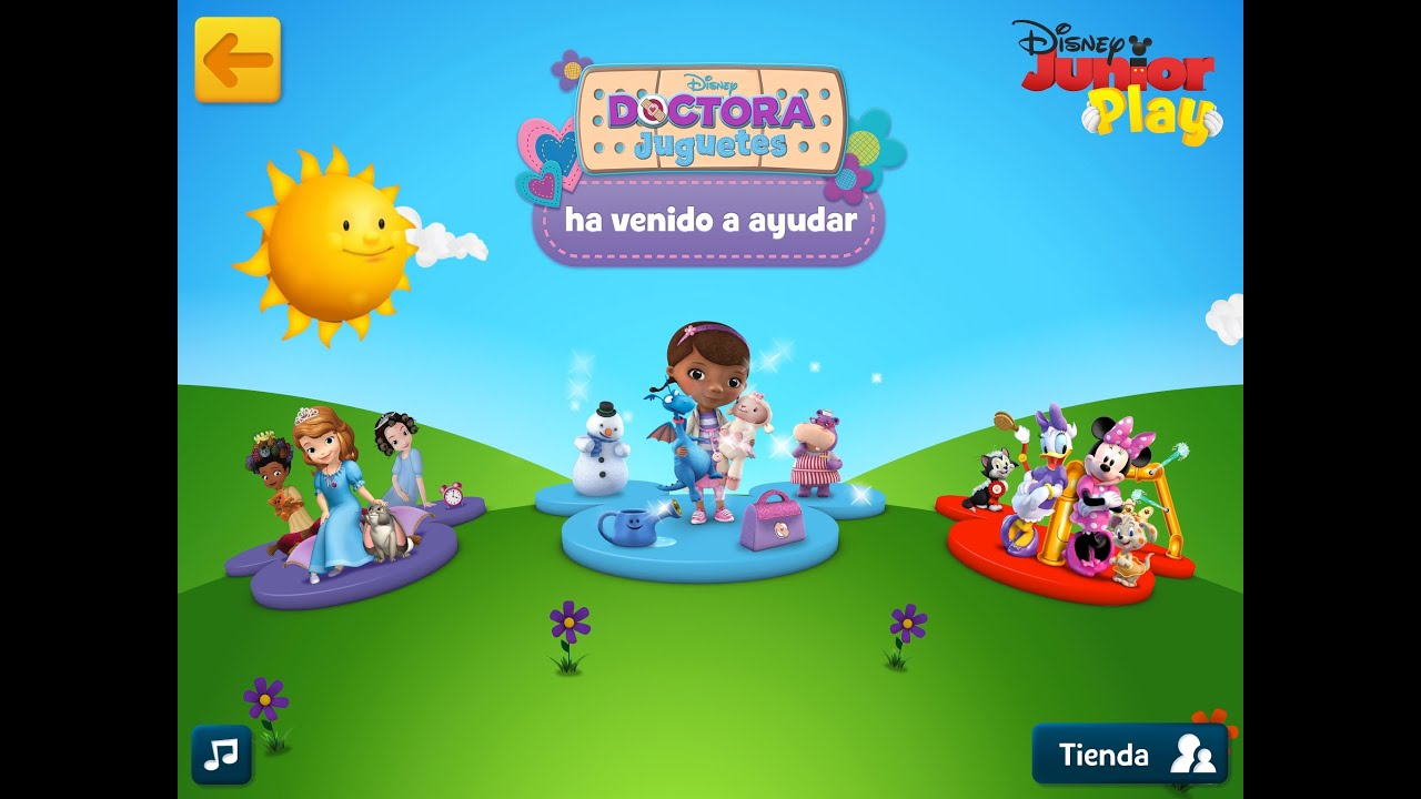 Apps For Kids And Babies Disney Junior Play Doc Mcstuffins Doctora Juguetes Youtube