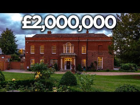 Touring A £2,000,000 Grade II Listed Manor House