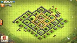 Clash of clans reis devler 3.bolum