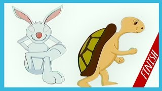 The Hare And The Tortoise | The Hare And The Tortoise In English | English Stories For Kids