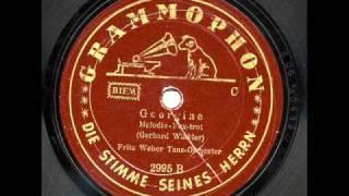 Georgine (Fritz Weber Tanzorchester, Juli 1939)