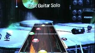 Guitar Hero Smash hits Cult of personality fc 100% first solo