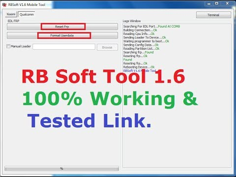 RBSoft Mobile Tool V1.6 How To Work And Installation Process,Full Video Guide.