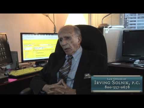 Lawyers Toronto North York Law Offices of Irving Solnik PC ON