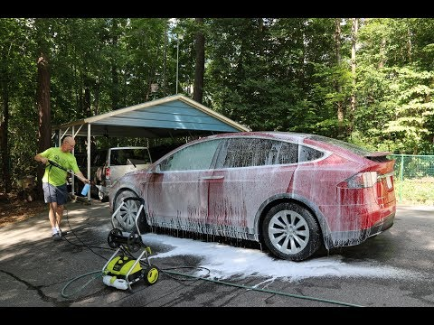 Day 23 Tesla Ruby Power Wash and Foam Cannon