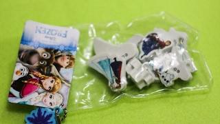 Frozen - Elza, Anna, Olaf - Gumki do ścierania
