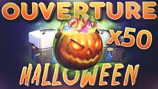 OVERWATCH FR | OUVERTURE 50 PACKS HALLOWEEN ( PS4 )