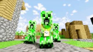 10 ЧАСОВ РЭП КРИПЕРА НА РУССКОМ RAP OF CREEPER MINECRAFT ANIMATION SONG IN RUSSIAN 10 HOURS