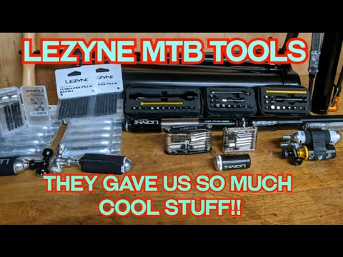 Are These The Nicest MTB Backpack Tools Around? LEZYNE Gave Us So Much Stuff!!