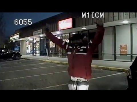 Police Run Over Suspect