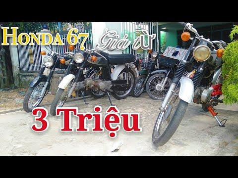 Honda 67 giá từ 3 Triệu xe dọn đẹp tại tiệm chú Thông |Ngố Nguyễn