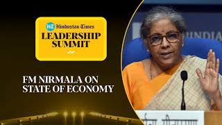 India's economy in better state now? FM Nirmala on Covid recovery #HTLS2020