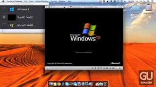 [Overview] MicroXP v0.87 via Parallels for Mac OS X
