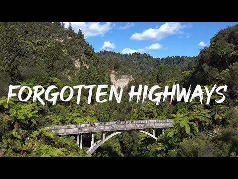 FORGOTTEN HIGHWAYS - Of the Whanganui River, Explored by Mountain Bike and Packraft.