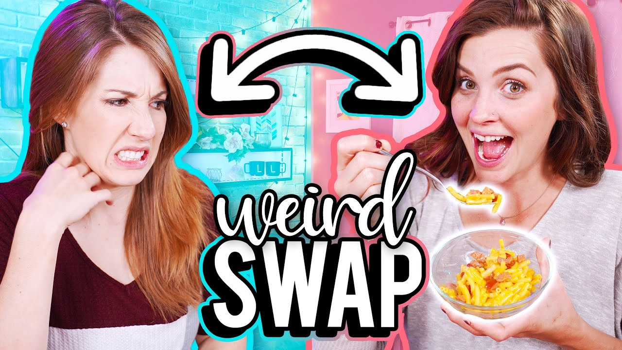 Swapping Our Favorite WEIRD Childhood Snacks!