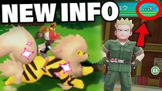 OVERWORLD SHINY POKEMON + LT. Surge IS STRONGER In Pokemon Let's Go Pikachu!