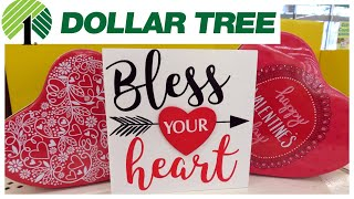 Dollar Tree Valentine's Day Decor 2019!