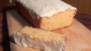 How To Make A Delicious Coconut Cake: With Sour Cream Lemon Icing