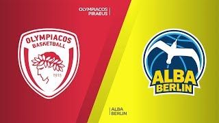 Olympiacos Piraeus - ALBA Berlin Highlights | Turkish Airlines EuroLeague, RS Round 19