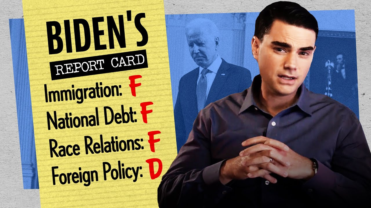 Ben Shapiro Reviews Biden's First 100 Days As President