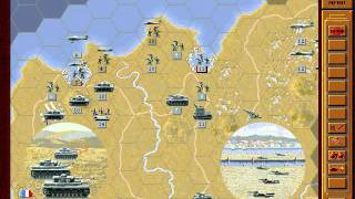 Let's Play Panzer General 014: Benelux Blitz Part 6