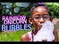 Bubble HACK!! 🦄 🌈   KJ Summer Camp
