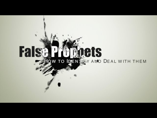 False Prophets: How to identify and deal with them Part - 1 |House Of Prayer |Ps Thomas Jayaraj