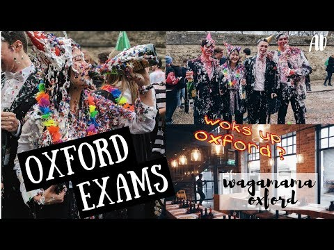 OXFORD VLOG: FINISHING OXFORD EXAMS & COOKING WITH WAGAMAMA